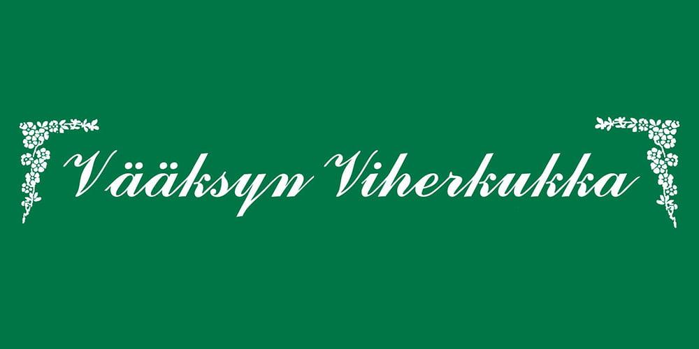Vääksyn Viherkukka logo