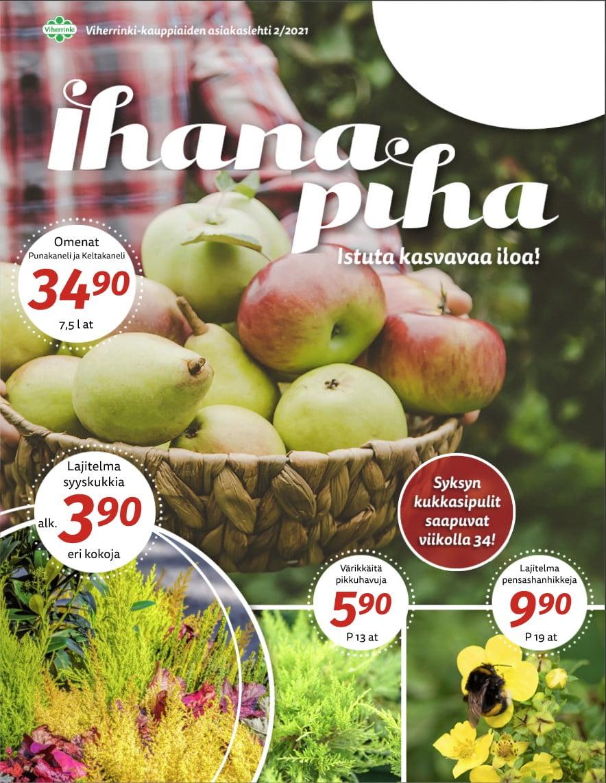Syksyn Ihana Piha ilmestyy tällä viikolla!